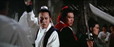 Yueh Hua et Lo Lieh dans Jade Tiger